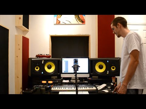 Learn to make Acoustic Panels / Bass Traps - Sound Test - Start to finish Build