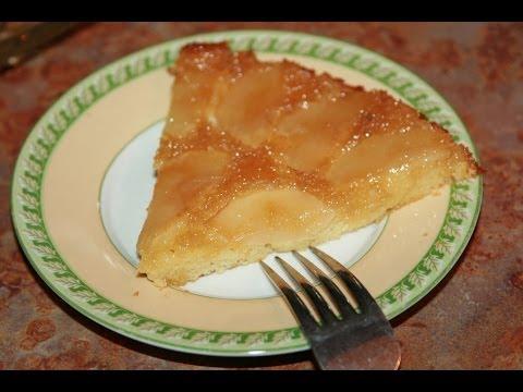 recette-gâteau-renversé-aux-pommes---upside-down-caramelized-apple-cake---recettes-maroc