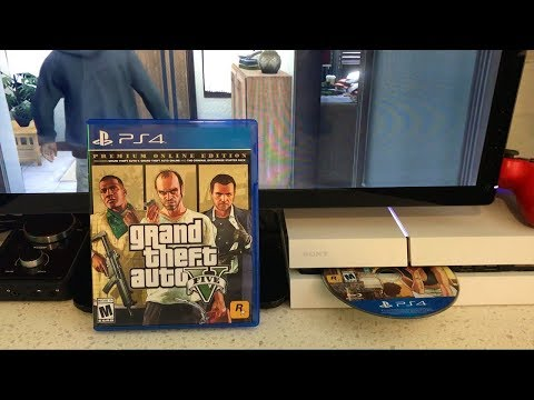 What Happens When You Put Grand Theft Auto 5 Premium Edition In Your PS4 While Playing GTA Online?