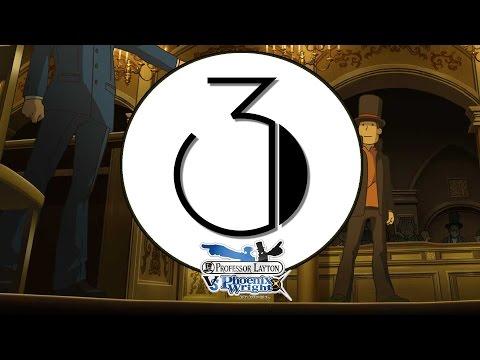 Professor Layton vs. Ace Attorney Ep. 3 ~ Phoenix Wright's 3D Objection!
