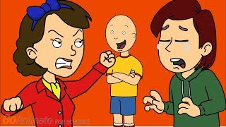 Boris Grounds Caillou/Grounded