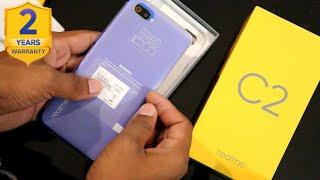Realme C2 Unboxing | 2GB Ram | Blue Colour | Redmi 7A Killer | Flipkart w/ 2 year warranty