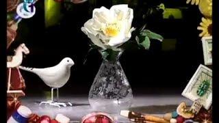 Делаем цветок шиповника из фоамирана (пористая резина). Мастер класс. Наташа Фохтина