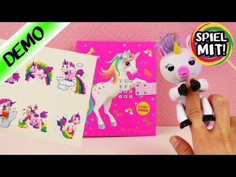 3 neue Highlights für EINHORN Fans | Unicorn Lover Tattoos, Tagebuch & elektronisches Spielzeug
