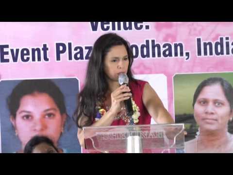 Senior Pastor Vanessa Johnson India Women Conference -2013