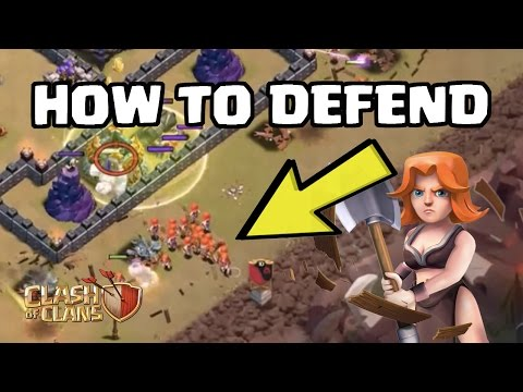 How to Defend Mass Valkyries at TH9 | Clash of Clans War Defense Strategy