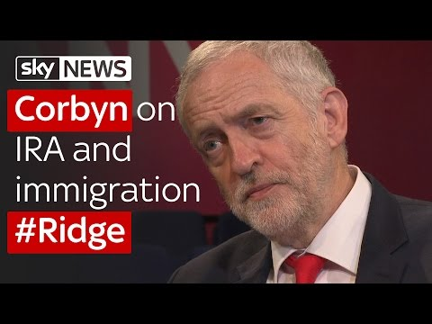 Jeremy Corbyn on the IRA and immigration: Full interview on #Ridge