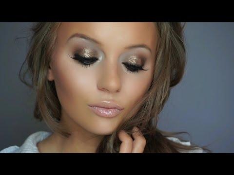 J.  Lo Inspired Bronze Glow | Urban Decay Naked Palette Makeup Tutorial | Rachel Lynne