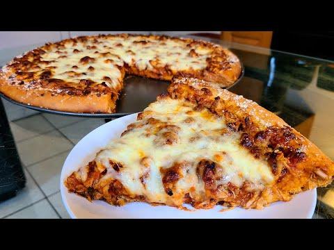 Homemade Barbecue Chicken Pizza