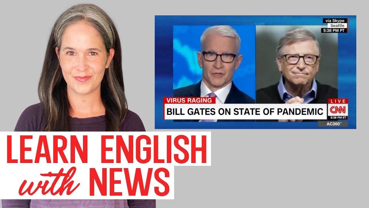 Learn English with News: American English Conversation + Vocabulary Training   Free English Lesson