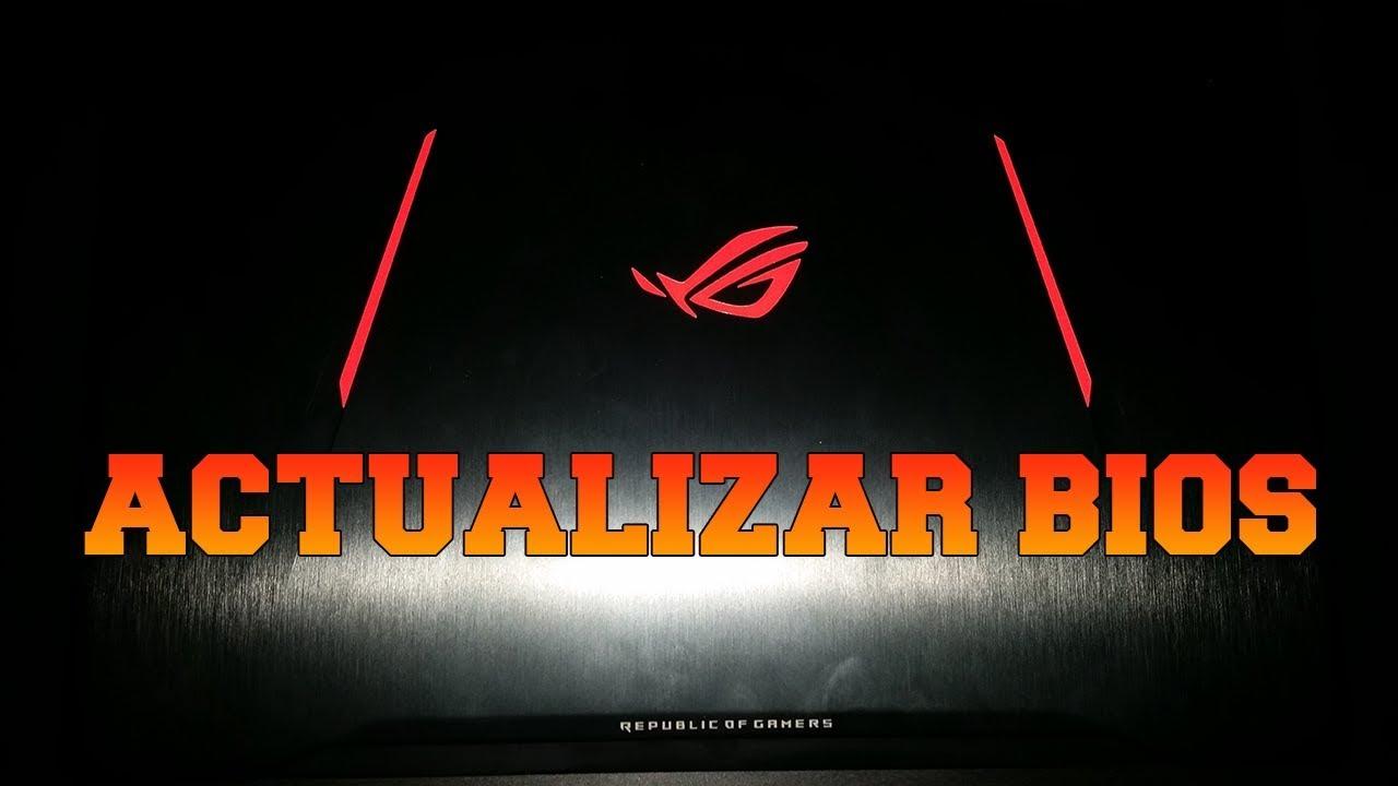 Como actualizar la bios y desactivar intel turbo boost | ASUS GL702VM -  Eliminar Thermal Throttling