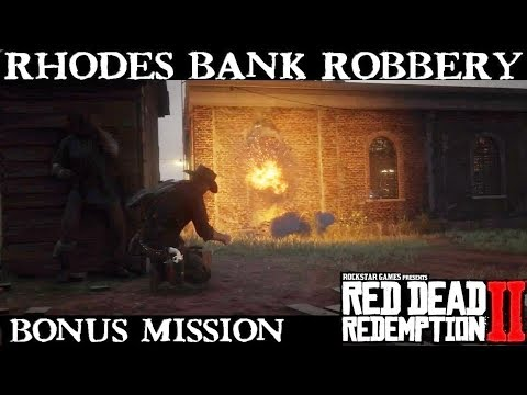 Special Rhodes Bank Robbery Mission with Charles and Uncle | Red Dead Redemption 2 thumbnail