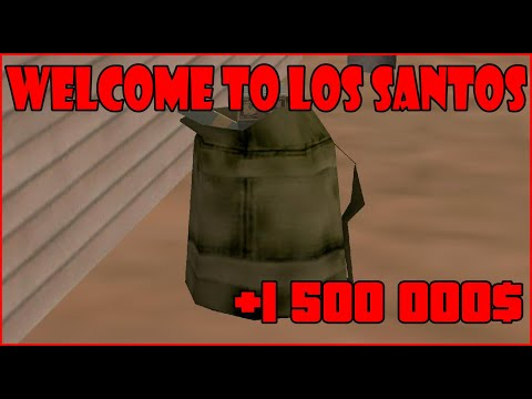 SA:MP | Welcome to Los Santos | Hledání tašek s penězi | Searching for moneybags //by DanyK