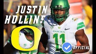 Justin Hollins || Line Stuffer || Official Oregon OLB Highlightsᴴᴰ