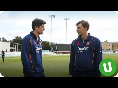 Unbelievable Reactions from Alastair Cook!