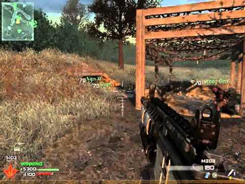 MW2 NUKE! Noob Tube + RPG Wasteland