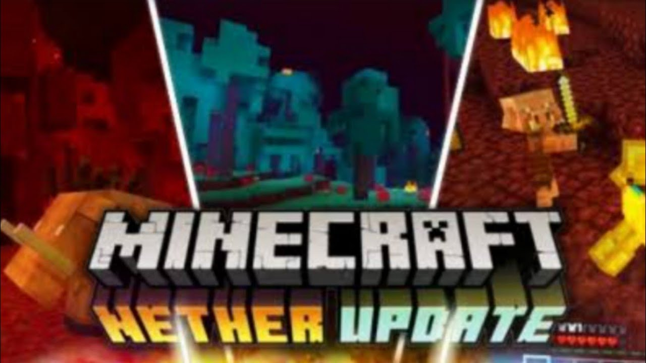 Minecraft Bedrock  NETHER UPDATE