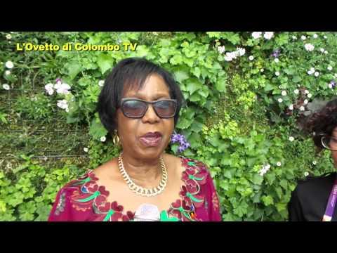 Intervista ad Albina Assis Africano - Commissario Generale Angola - Expo 2015 Milano