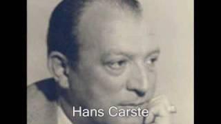 Hans Carste - Wie geht´s mein Fräulein