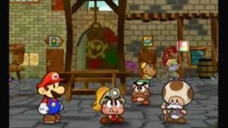 Paper Mario The Thousand Year Door Walkthrough part 1:Welcome to Rogueport