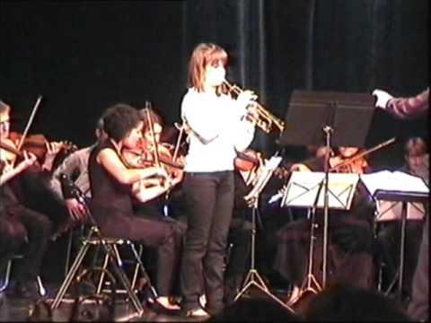 Trompette, Andréa Jaeger, Concours National Les Petites mains symphoniques