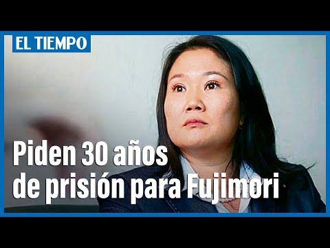Fiscal pide 30 años de prisión para candidata presidencial Keiko Fujimori