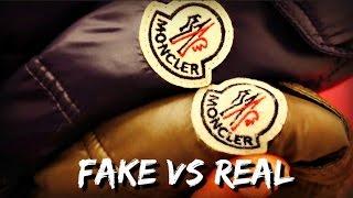 HOW TO SPOT A FAKE MONCLER MAYA JACKET | FAKE VS REAL