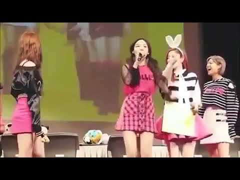TWICE funny moments - MR Taxi (cover)