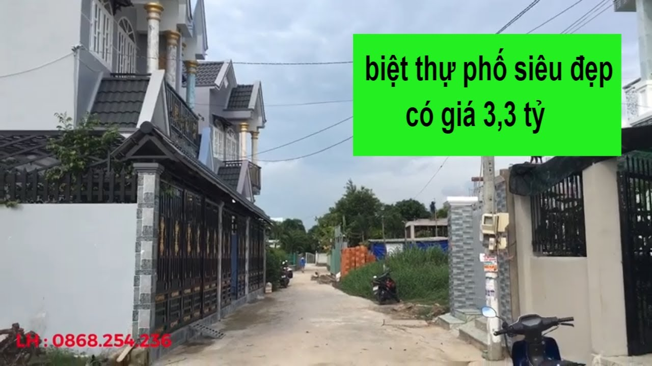 Bán Nhà Bình Chánh – Biệt Thự Mini – DT : 7X15m2 – LH : 0868.254.236