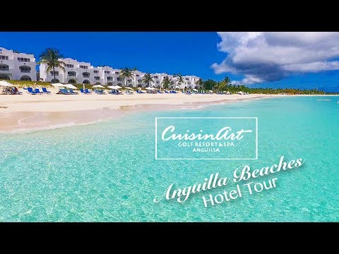 Anguilla Hotel Tour - CuisinArt Golf Resort & Spa