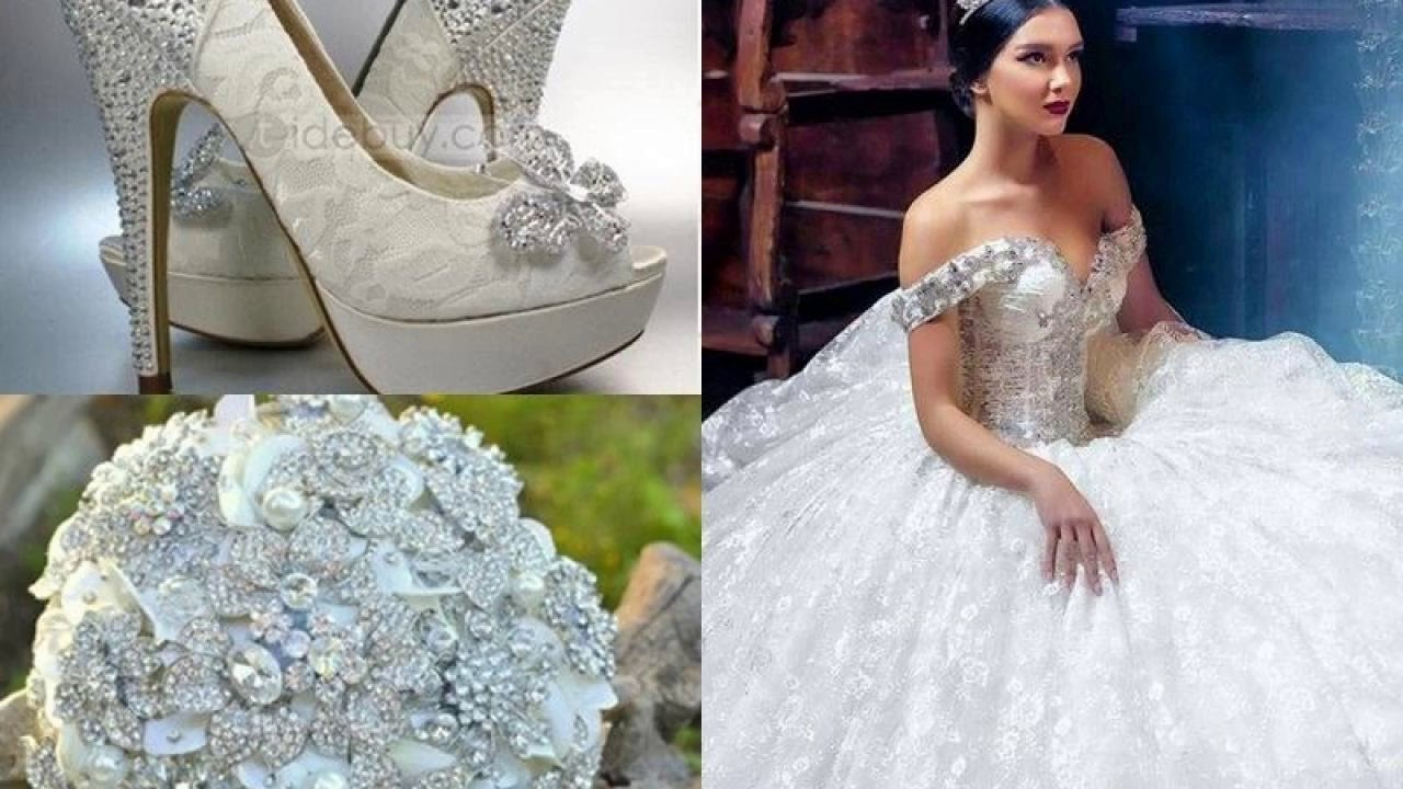 Las últimas tendencias Vestidos de novia ampones - YouTube