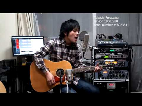No Reply The Beatles Gibson J-50 1966 ギブソン J50 古澤剛 Takeshi Furusawa