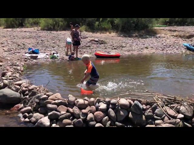 Exploring Along the Verde River in Arizona With Kids
