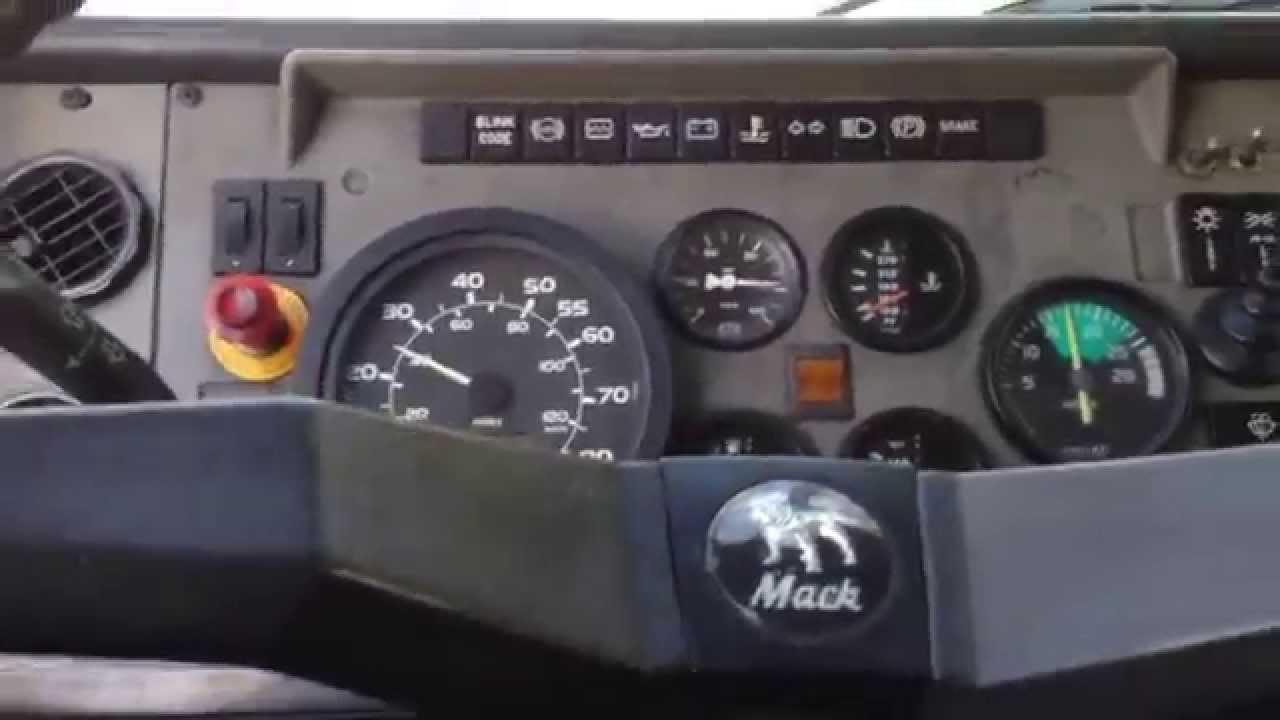 Driving A Mack Midliner Ms200