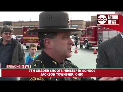 Officials provide update after Ohio 7th-grader shoots himself at school