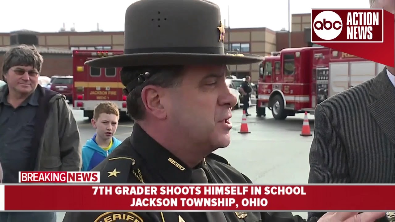 Ohio 7th grader shoots himself on middle school campus