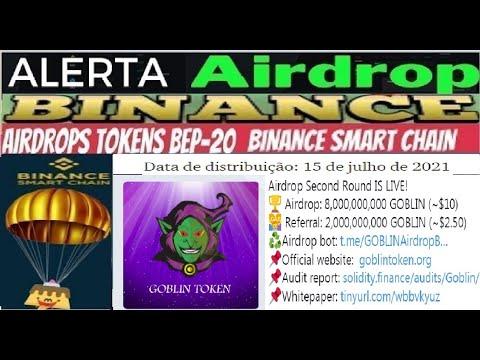 [ Airdrop Token Goblin ] Ganhe 8 Bilhões Tokens GOBLIN ($10)   Ref 2 Bilhões GOBLIN ($2,50)   Renda