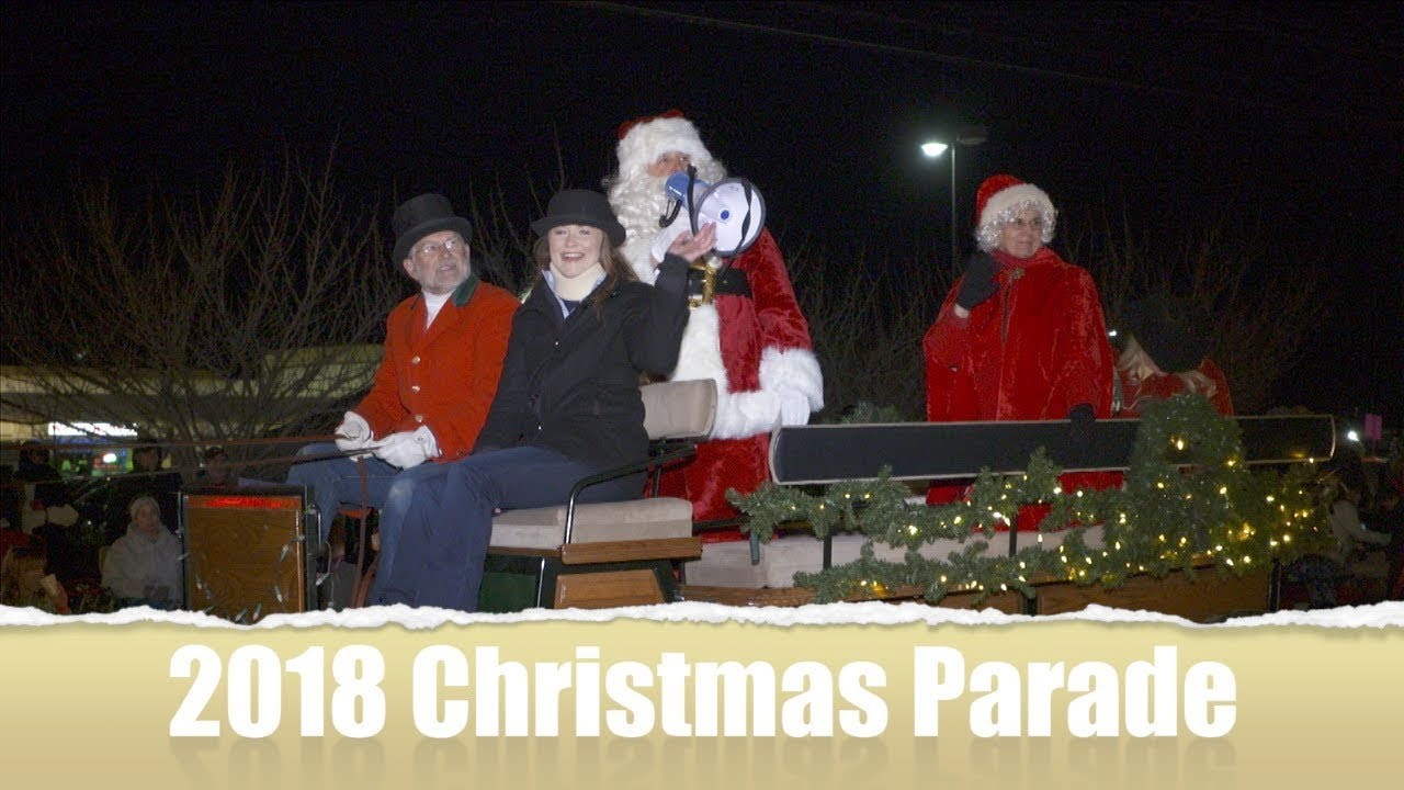 Centreville Christmas Parade 2018 - YouTube