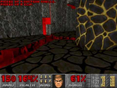 Doom 2 - Hell on Earth - Level 28 - The Spirit World - Part 1