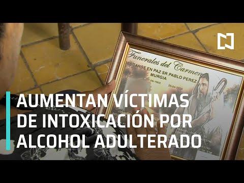 Testimonio de familiares de víctimas de intoxicación por alcohol adulterado en Jalisco - En Punto