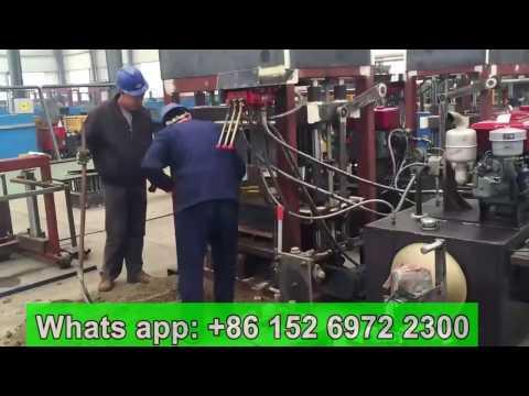 QT4-30 fixed diesel engine concrete block machine in Ghana