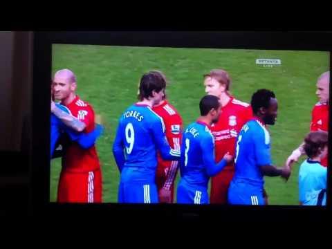 Fernando Torres first Chelsea game