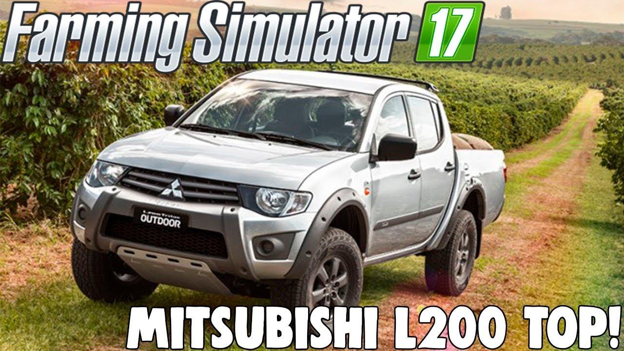Farming Simulator 17 - Mitsubishi L200 Top!! + Download ...
