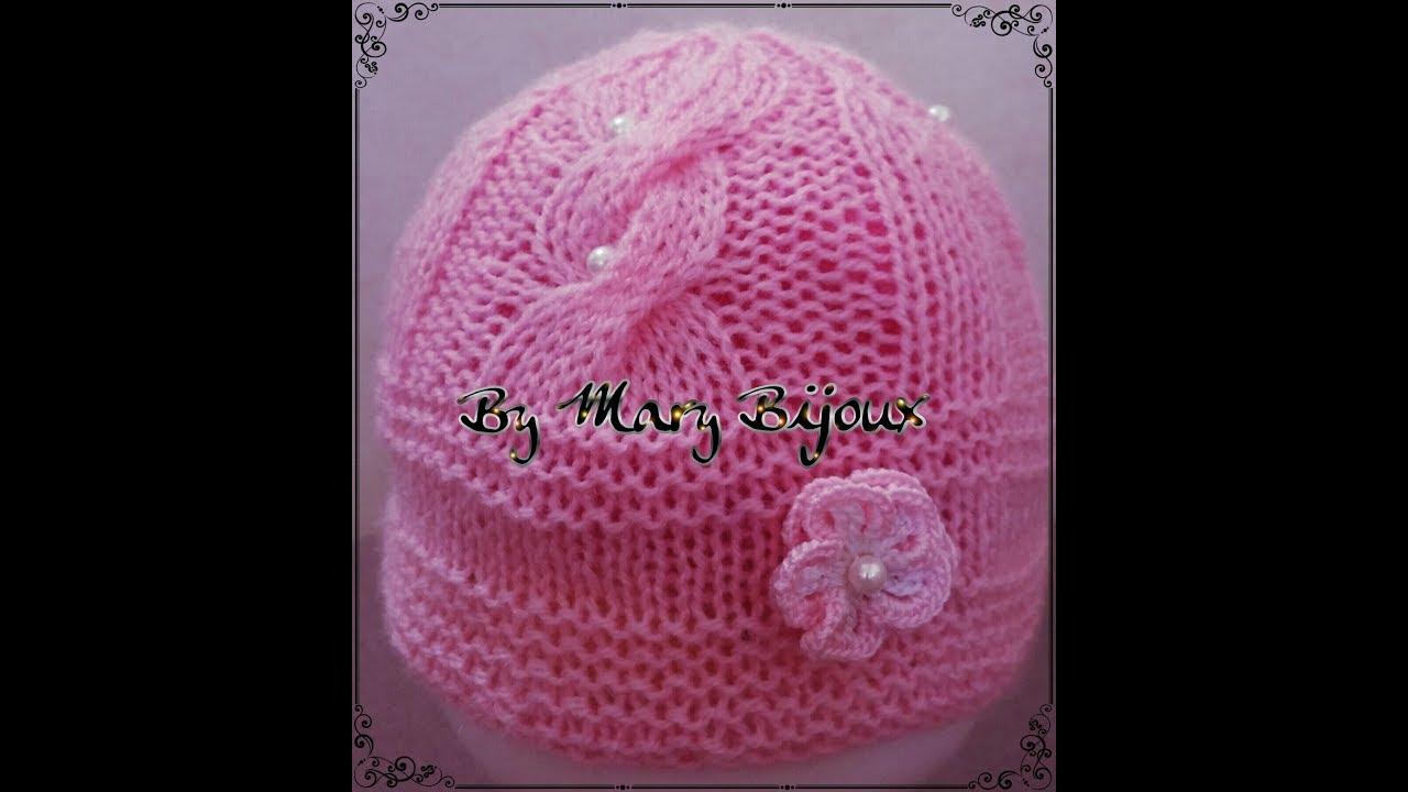 prezzo più economico orologio scarpe da ginnastica a buon mercato Cappellino Bimba a maglia(6-9 mesi)/Knit Baby Hat with Cable(6-9 M ...