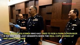 Bogus cops busted by real policemen, thanks to Kedah villagers