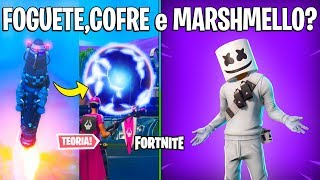 FORTNITE-ROCKET PREDICTED the BALL and SKIN MARSHMELLO COMING BACK?