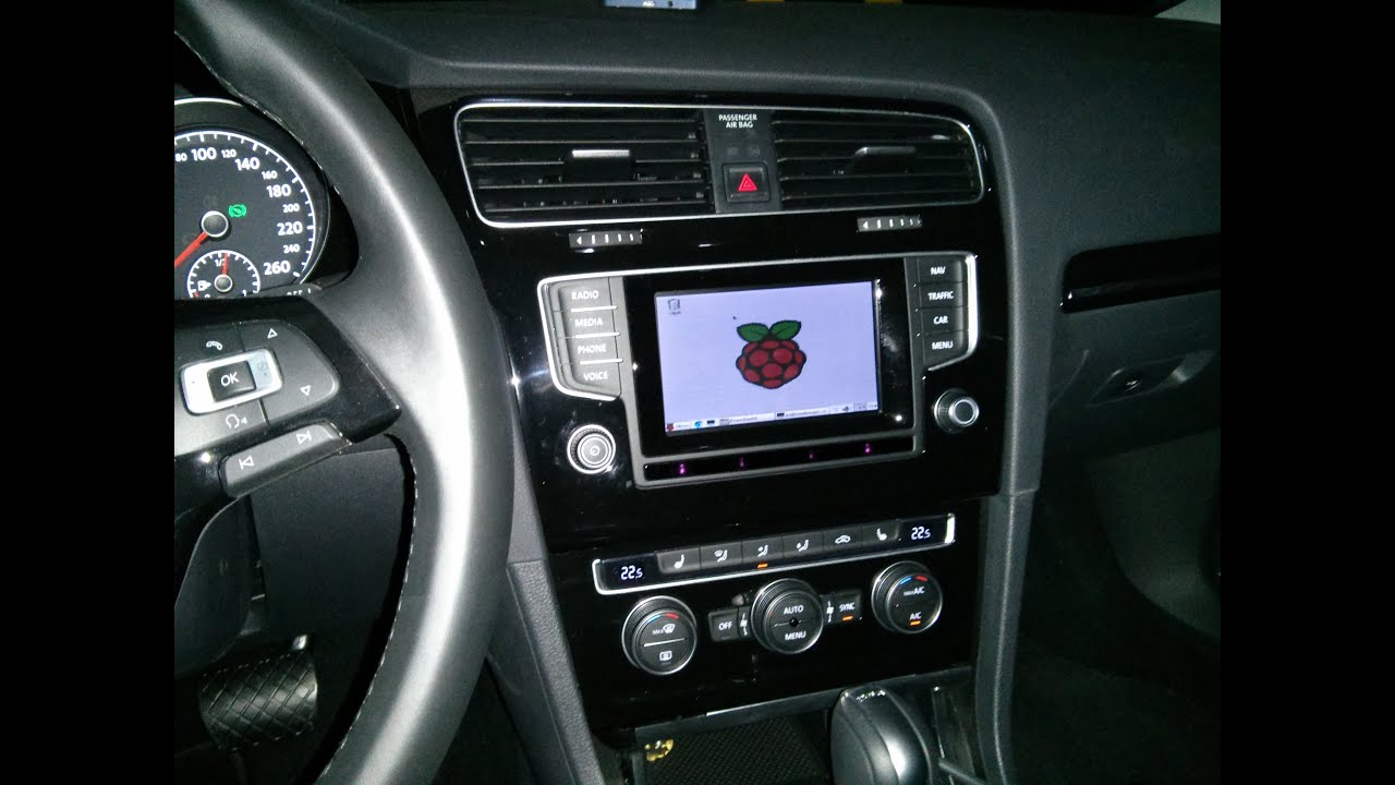 Mk7 Golf R >> Raspberry PI 2 Model B booting in a Volkswagen Golf MK7 1 ...