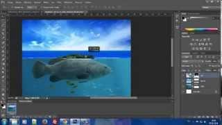 Photoshop Manipulation Floatin Island - Turkey