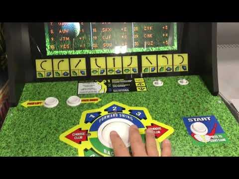 Arcade1Up Golden Tee Play Thru Vending Machine Story Arcade 1Up from rarecoolitems