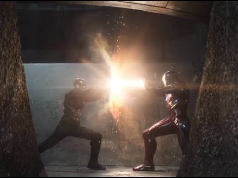 Captian America Civil War - Final Fight Scene Part-1 (Tamil)